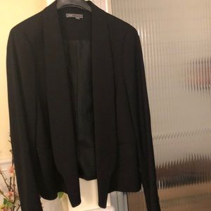 Vince black classic jacket with pockets